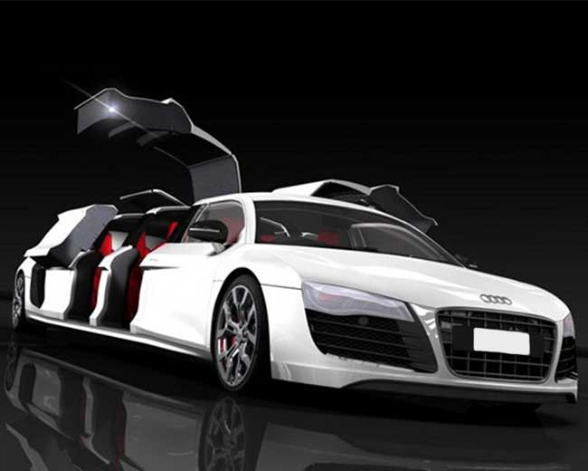 Audi R8 Limo Hire in West London
