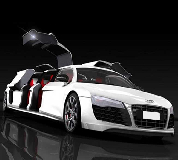Audi R8 Limo Hire in Bow