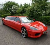 Ferrari Limo in Whetstone & Totteridge