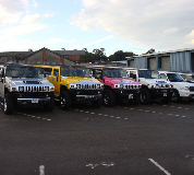 Jeep Limos and 4x4 Limos in Bow
