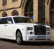 Rolls Royce Phantom Limo in Central London