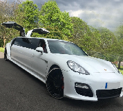 Porsche Panamera Limousine in South London