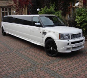 Range Rover Limo in Greenwich