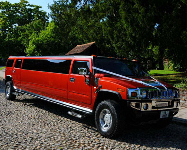 Hummer Limos in West London
