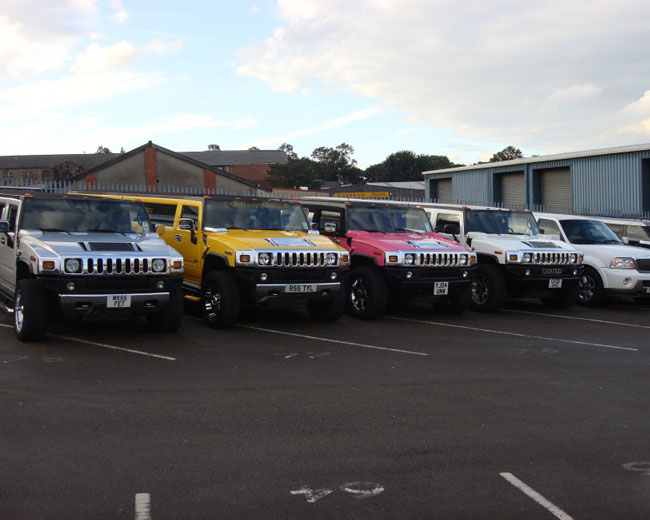 Jeep Limos and 4x4 Limos in London